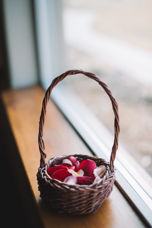 Local Crafted Willow Gift & Flower Girl Baskets