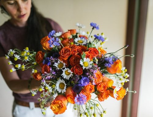 Hand Tied Bouquet Tutorial
