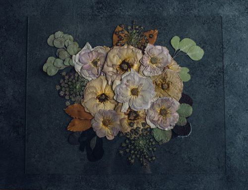 Pressed Floral Preservation Art