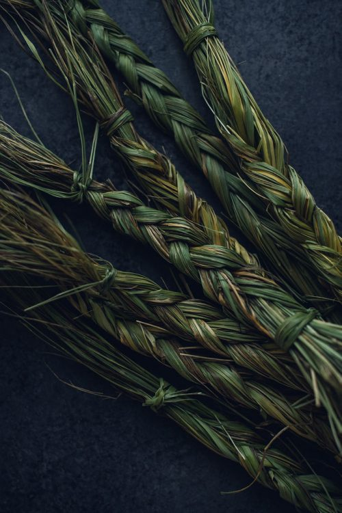 Local Sweetgrass Incense Smudge