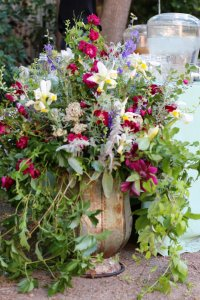 Large Rustic Garden Arrangements
