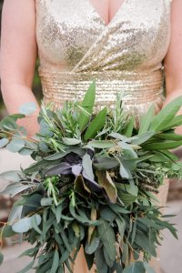 Bridesmaids Herbal Greenery Bouquets