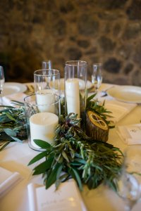 Romantic Candle Centerpieces