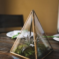 Modern Geometric Table Setting