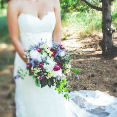 Cascading Handtied Bouquet
